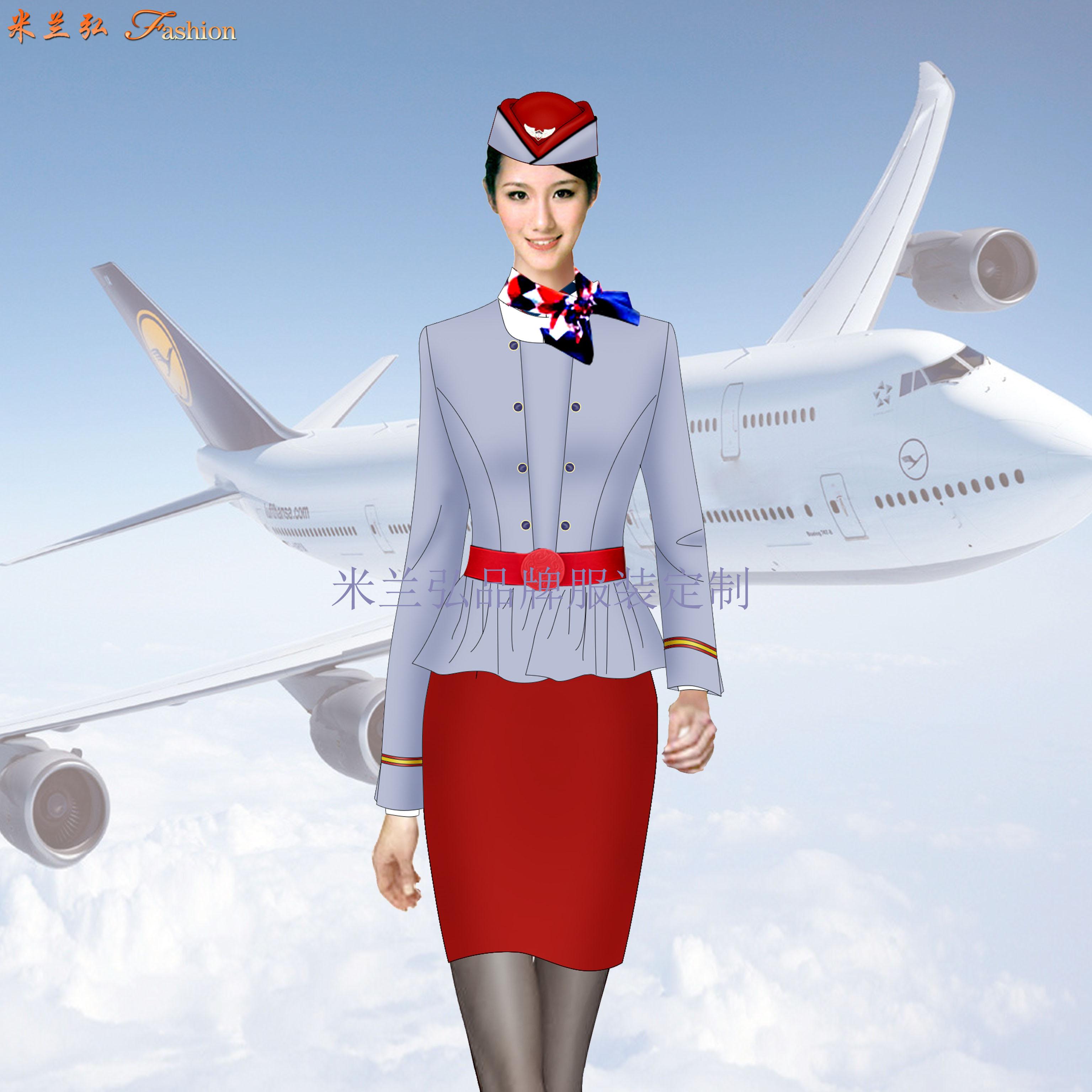 蘇州空姐服定制_航空機師職業裝訂制-米蘭弘廠家-1