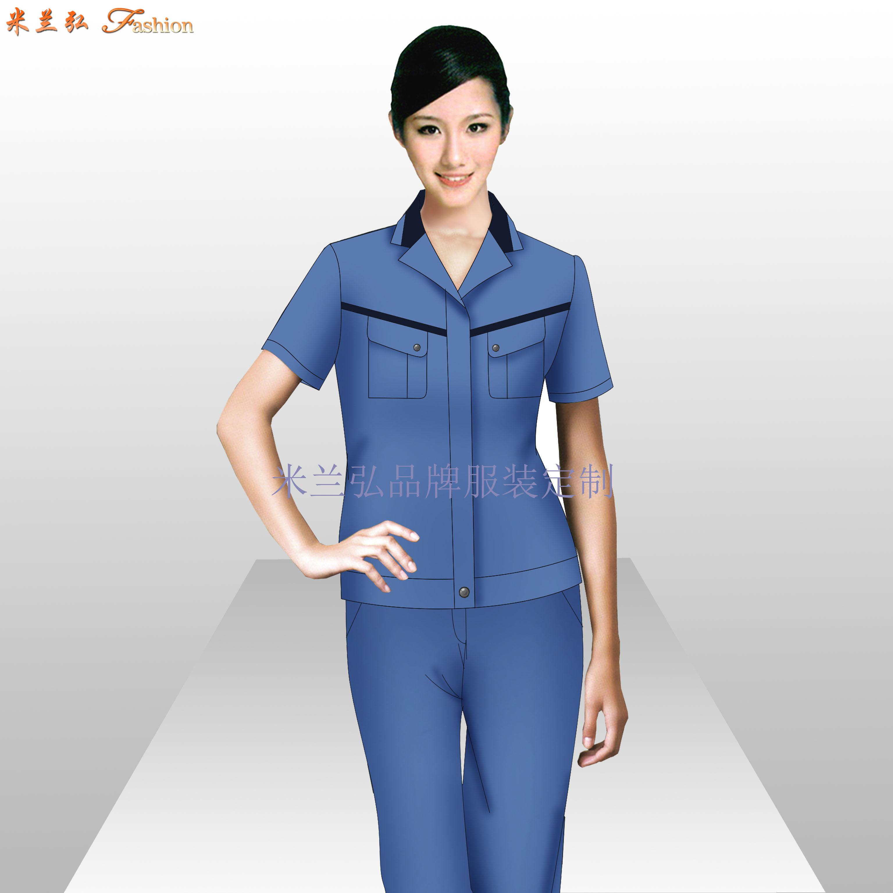 南通工作服廠家_工程服定做優惠價款式---米蘭弘服裝-2