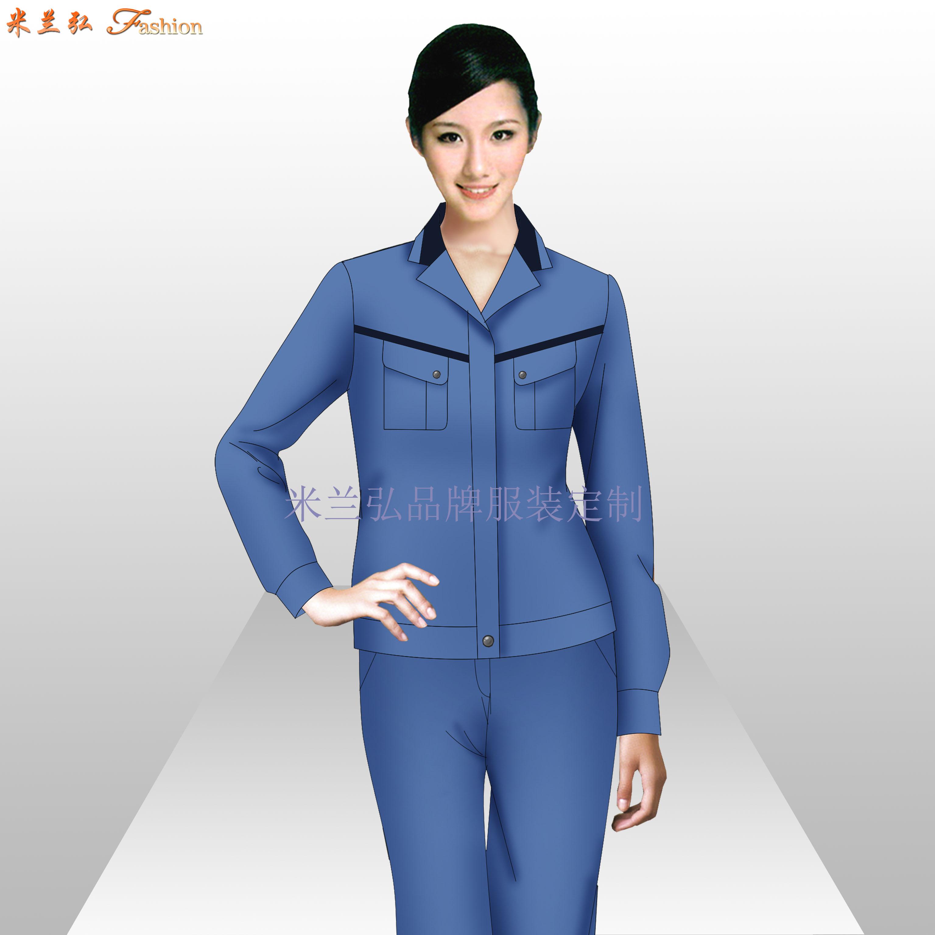 南通工作服廠家_工程服定做優惠價款式---米蘭弘服裝-3