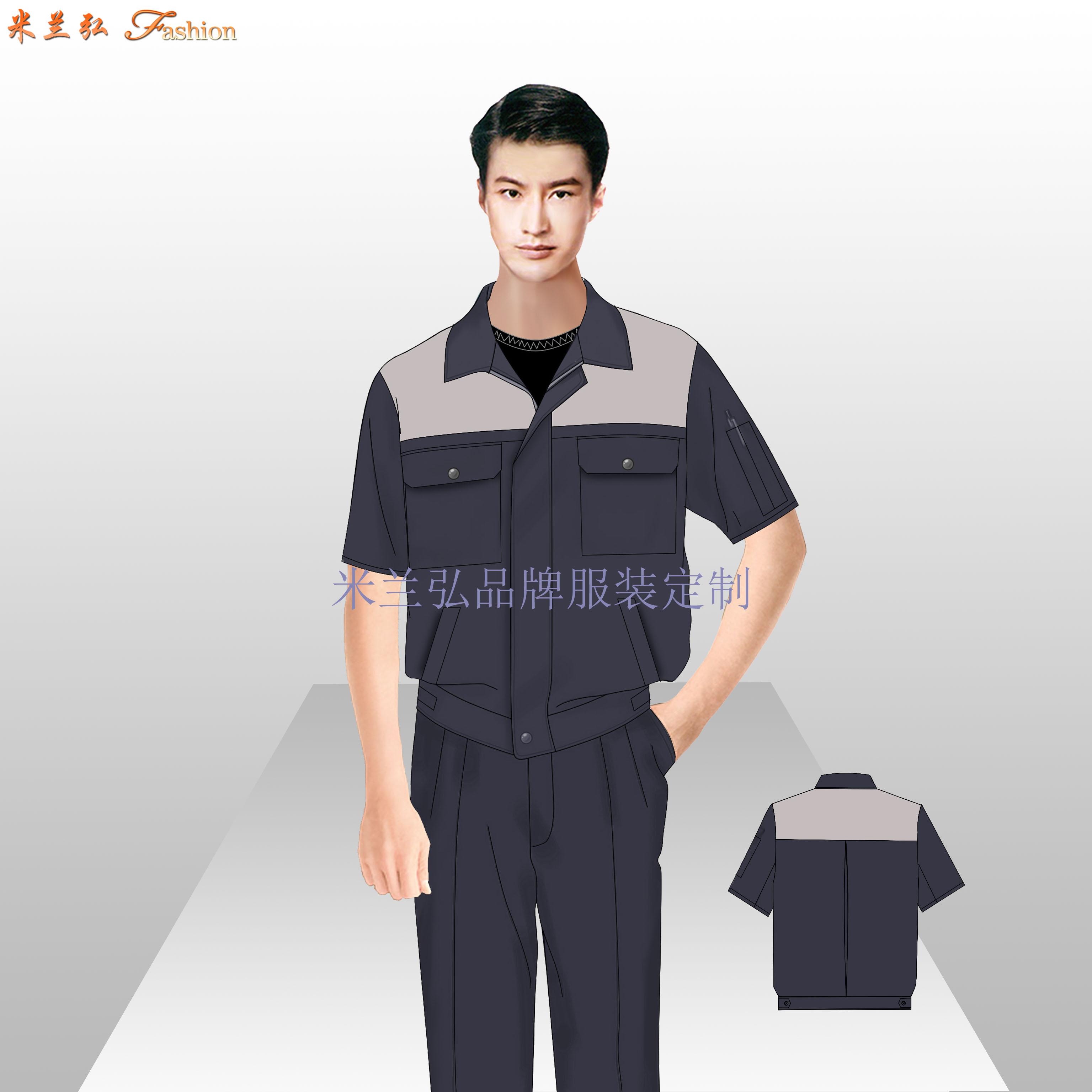 南通工作服廠家_工程服定做優惠價款式---米蘭弘服裝-5