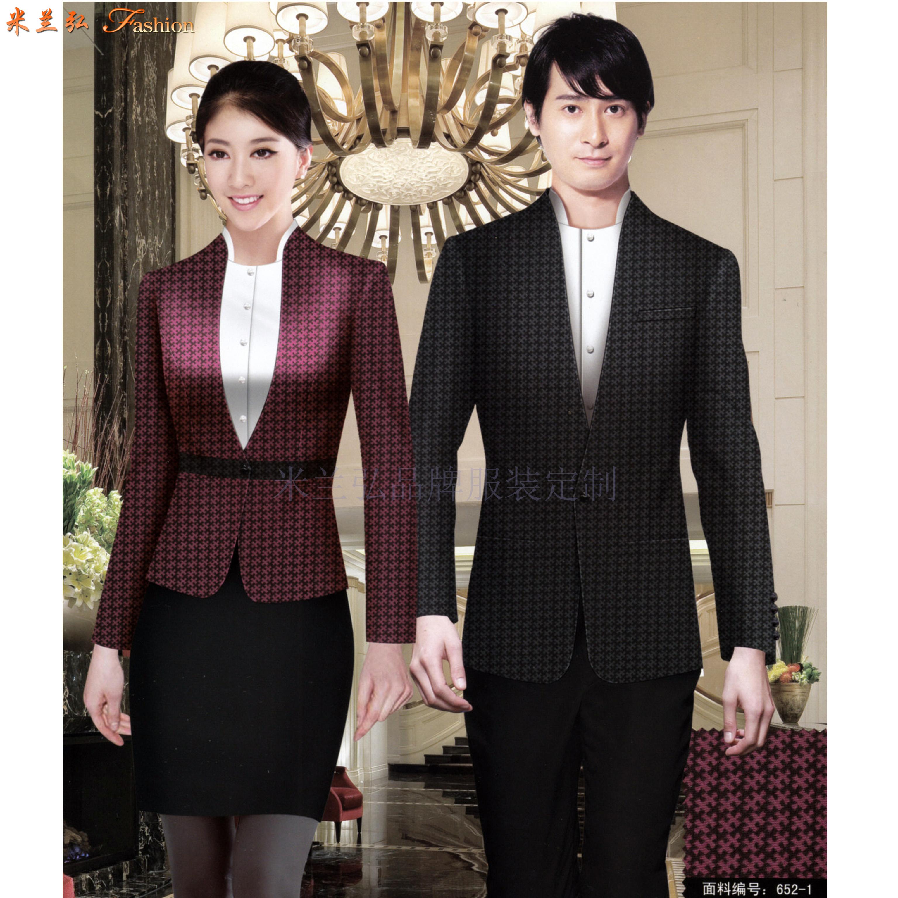 徐州酒店工裝定做_賓館工作服訂製優惠價-永利注册网站服裝廠家-3