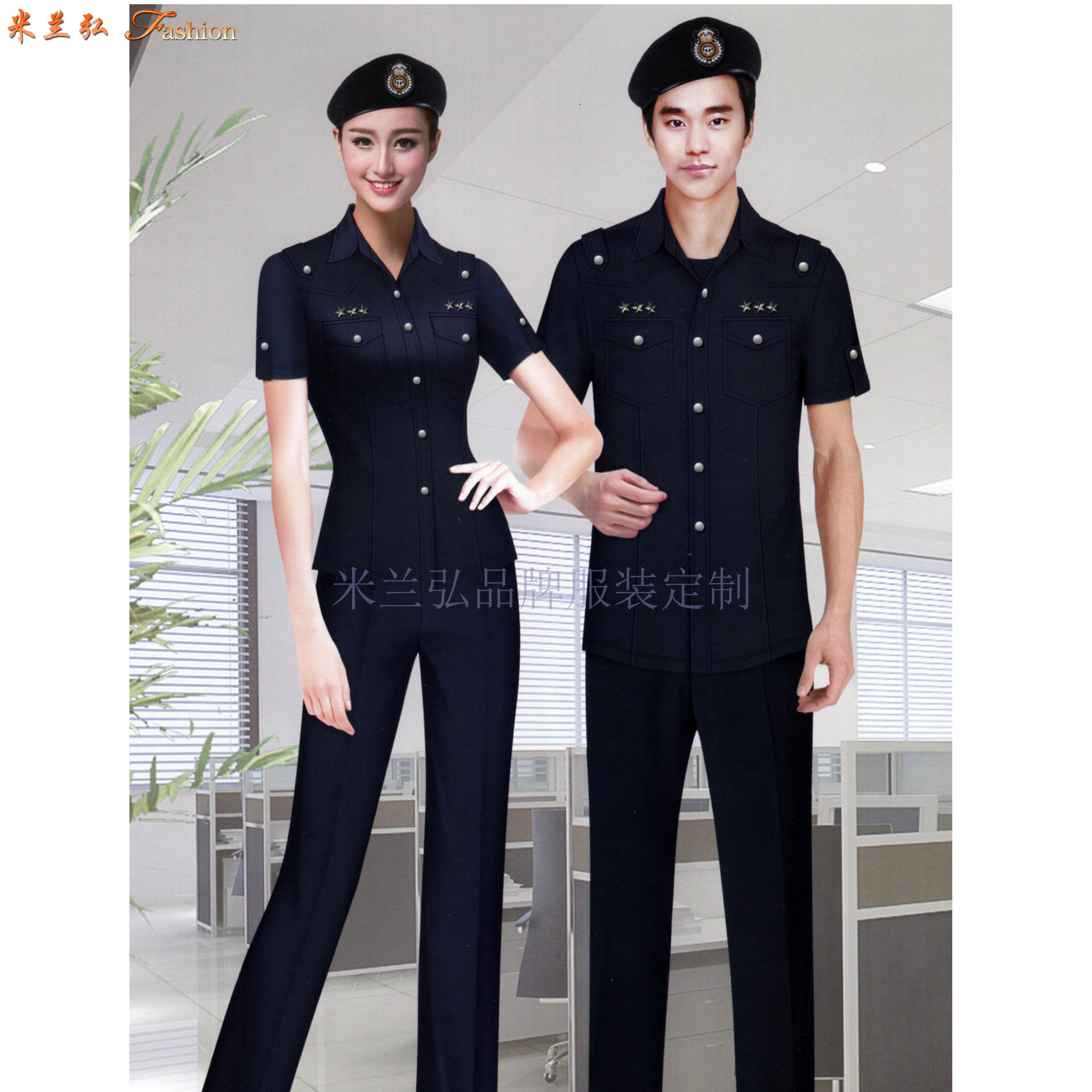 常州保安服定做_保安服直銷廠家優惠價-米蘭弘服裝-3