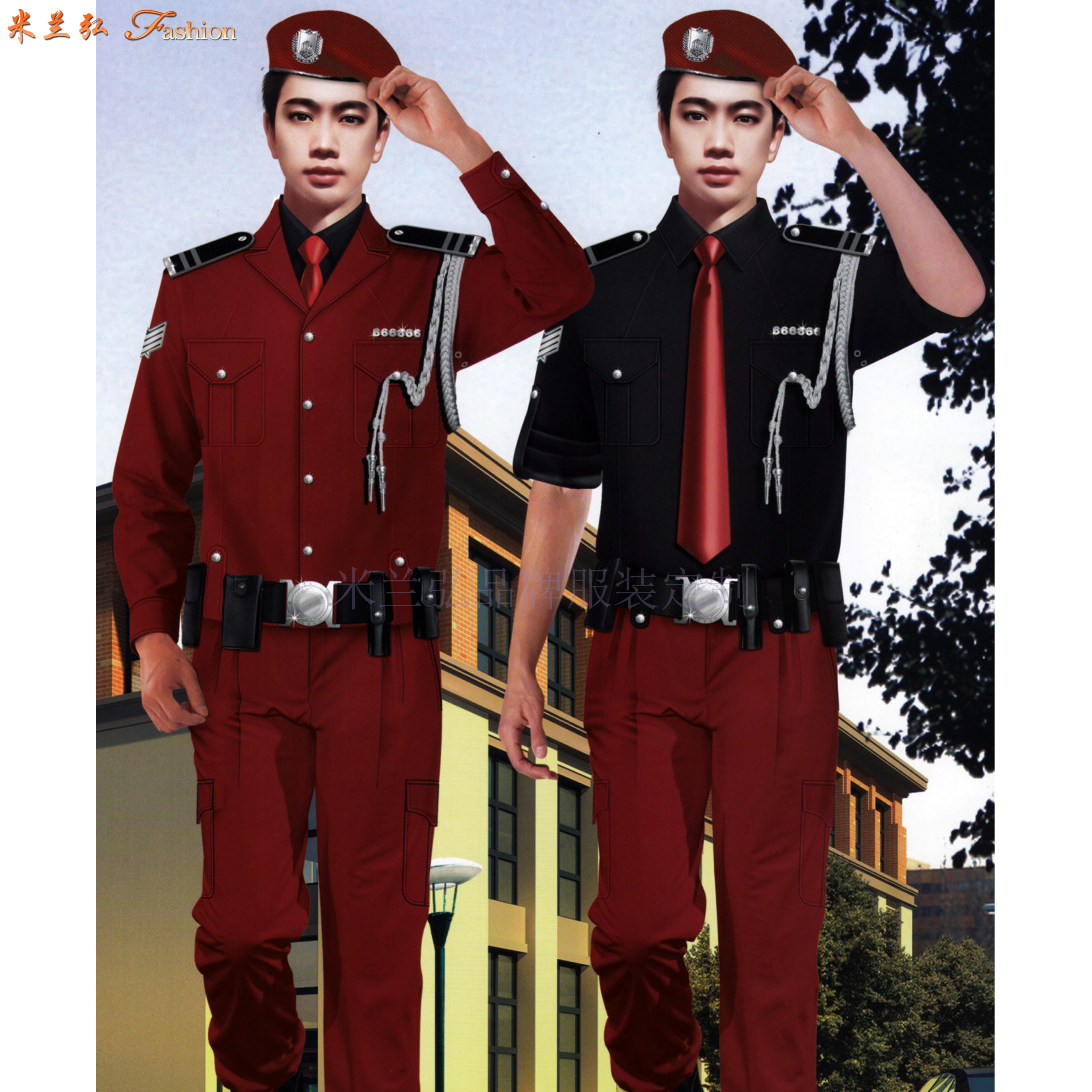 常州保安服定做_保安服直銷廠家優惠價-米蘭弘服裝-4