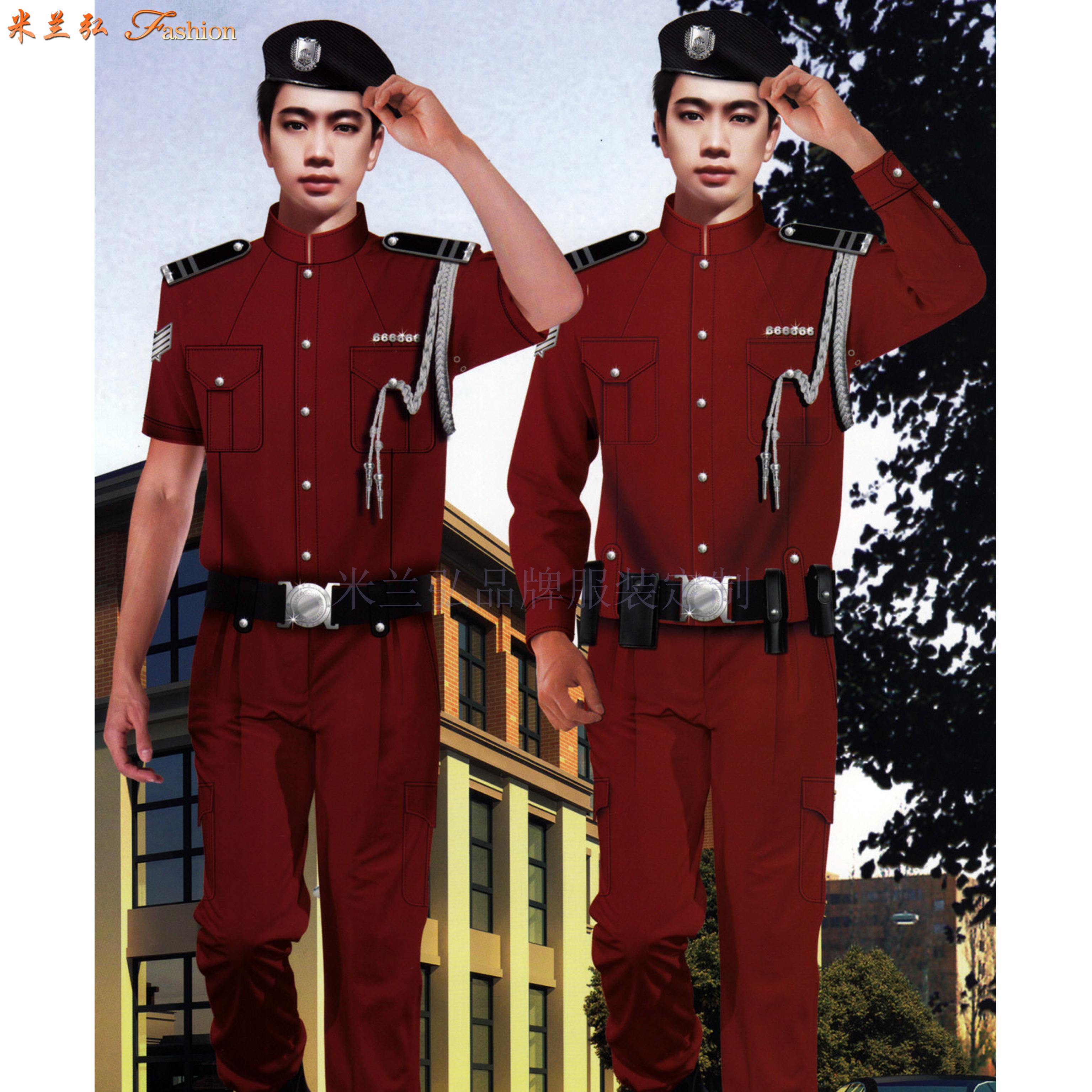 常州保安服定做_保安服直銷廠家優惠價-米蘭弘服裝-5