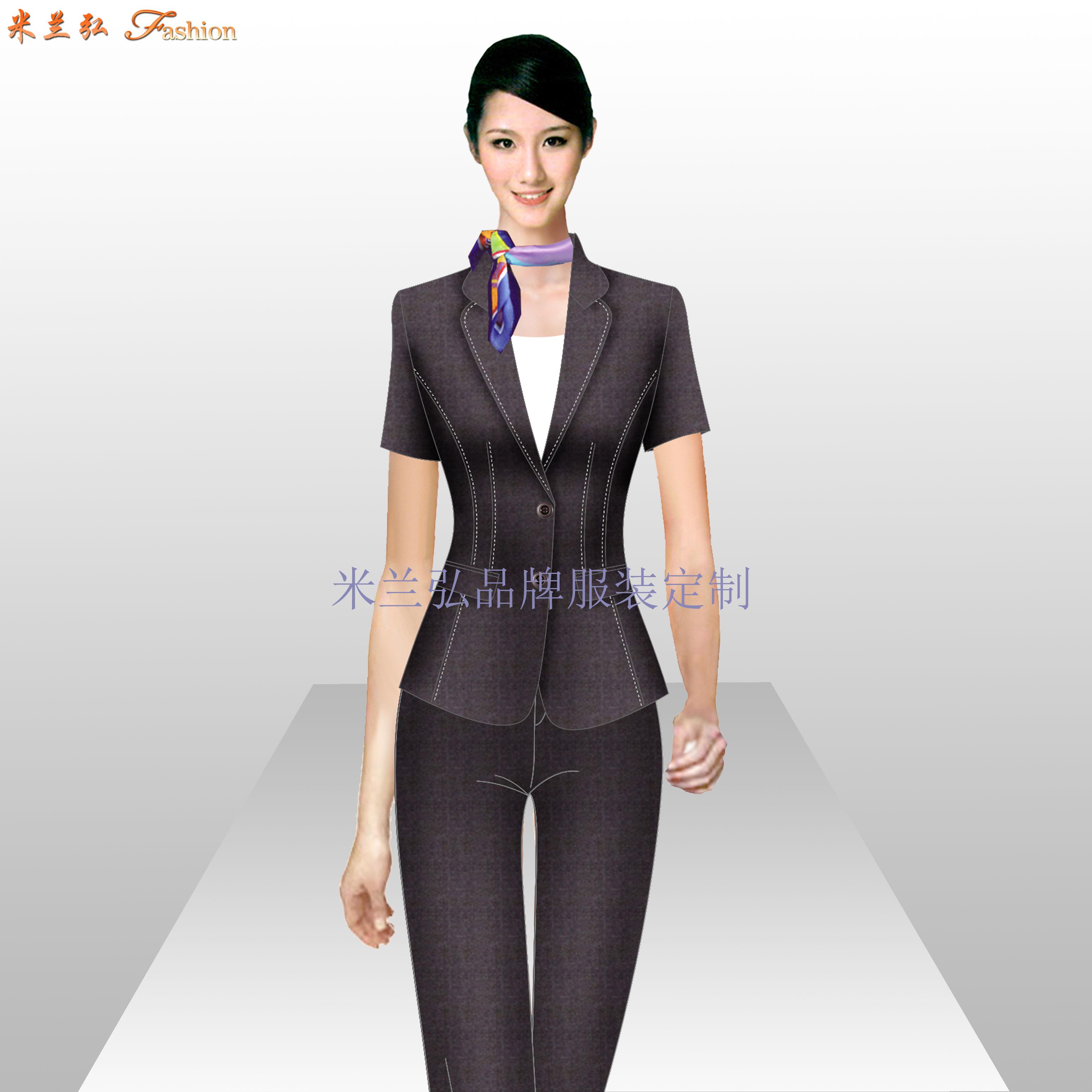 無錫西服定制_江蘇無錫職業裝裝訂做-米蘭弘服裝廠家-2