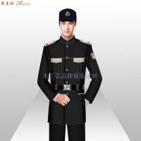貝雷帽保安服圖片_新式保安服款式-米蘭弘服裝廠家-2