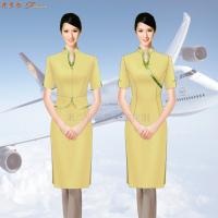 空乘連衣裙_大型航空公司空乘連衣裙定做-米蘭弘服裝廠家-2