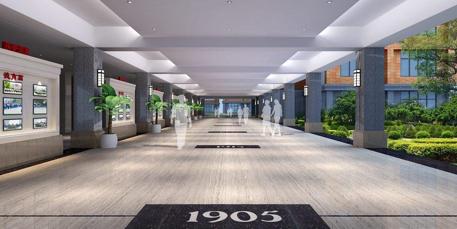 行政楼一楼展厅
