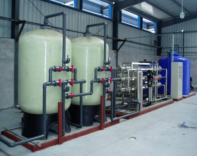 鍋爐冷卻塔景觀水循環系統-去離子水處理設備-去離子水處理設備