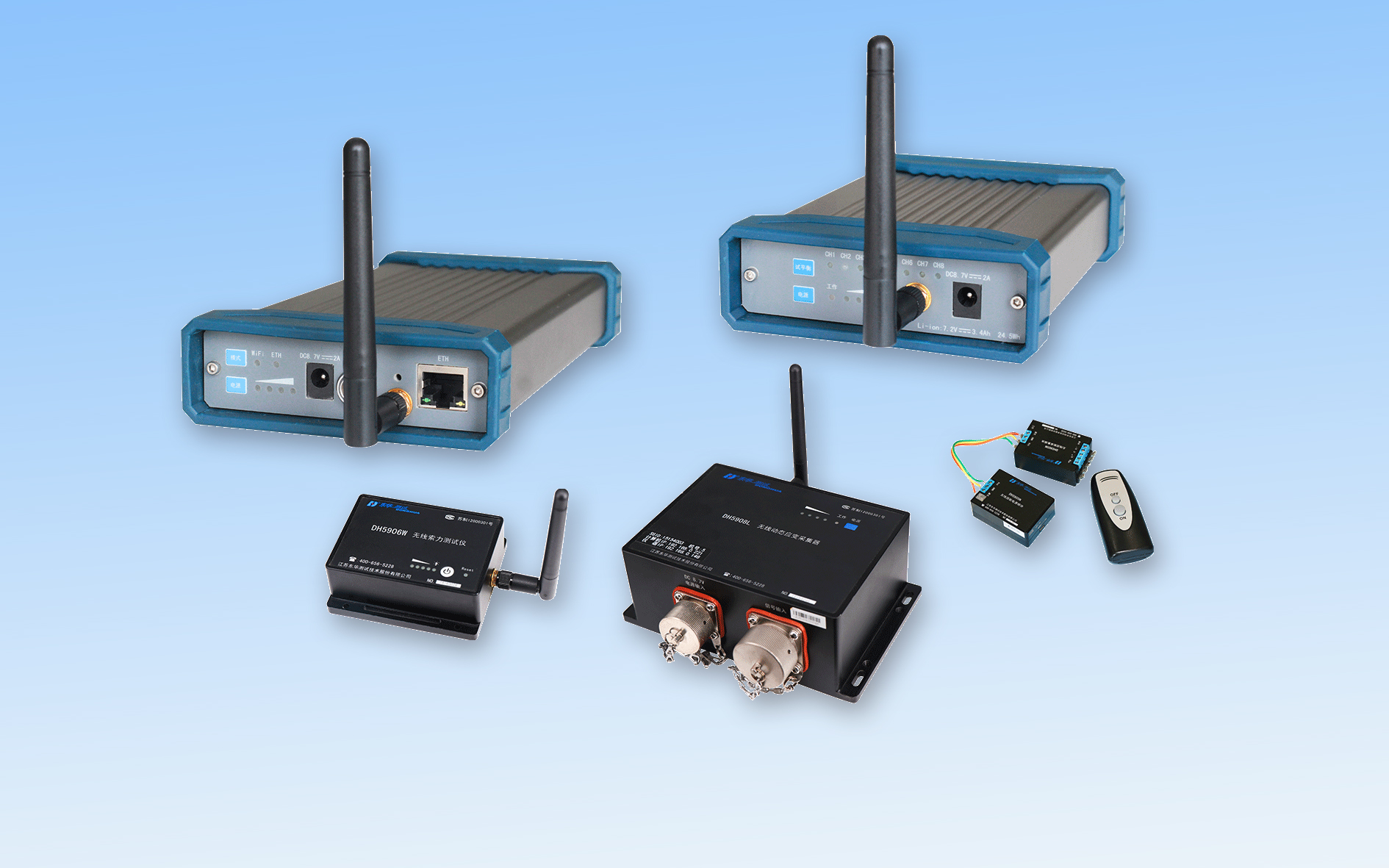 無線信號測試分析係統
