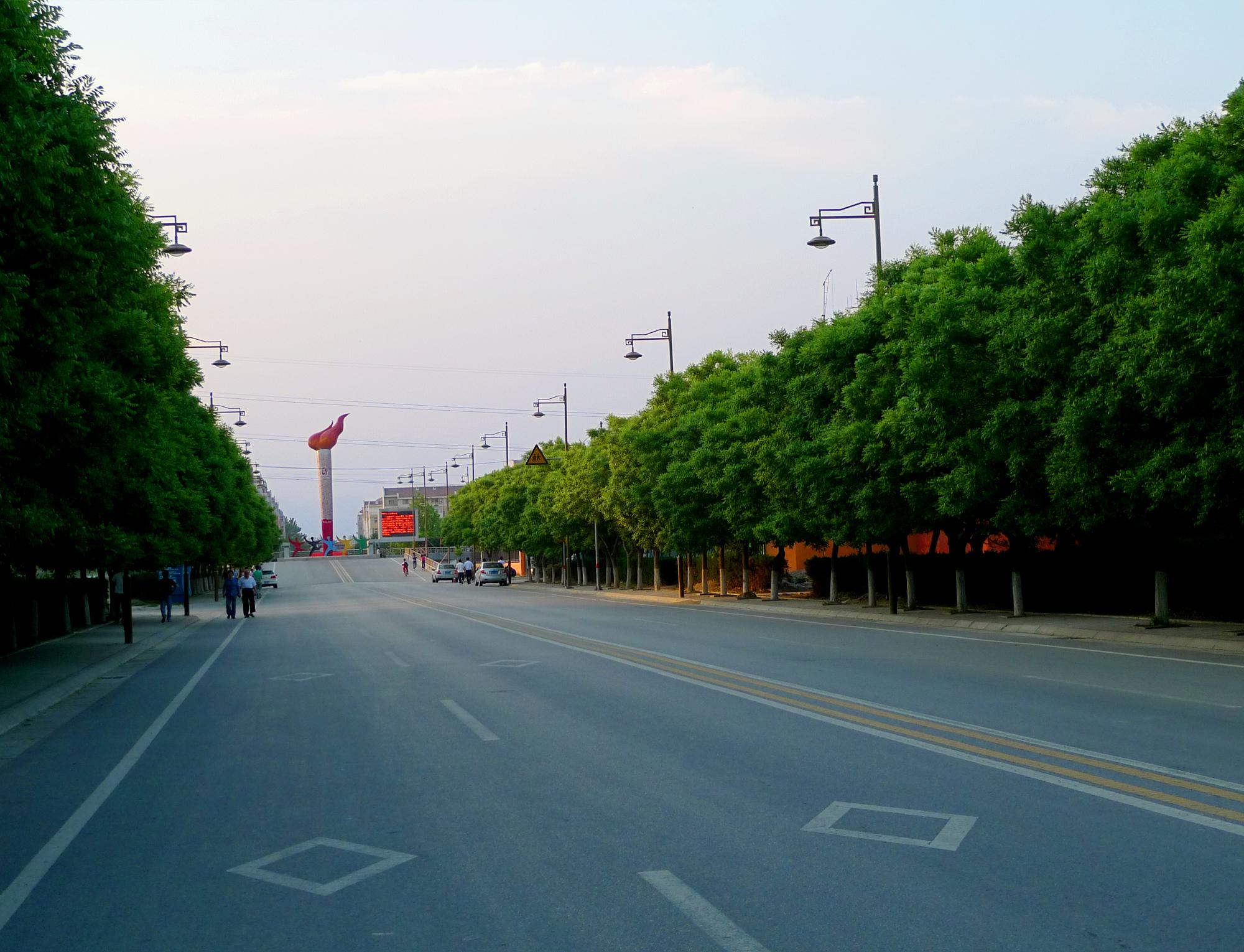 公路工程-宏福大道道路工程
