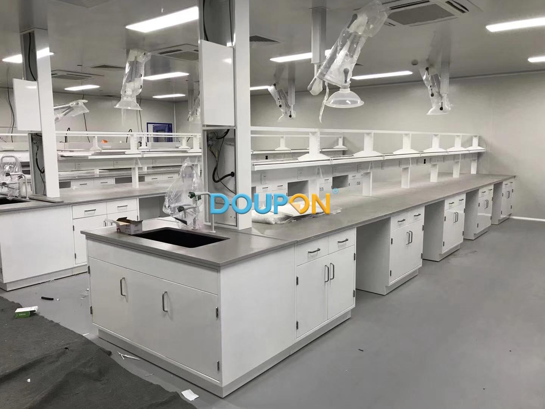 中化集團實驗室陶瓷臺面全鋼柜體-2