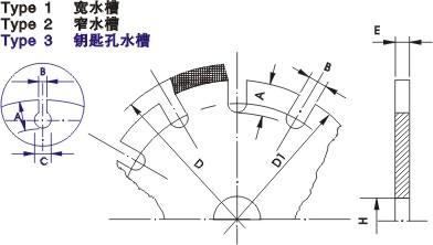 激光焊接锯片基体1