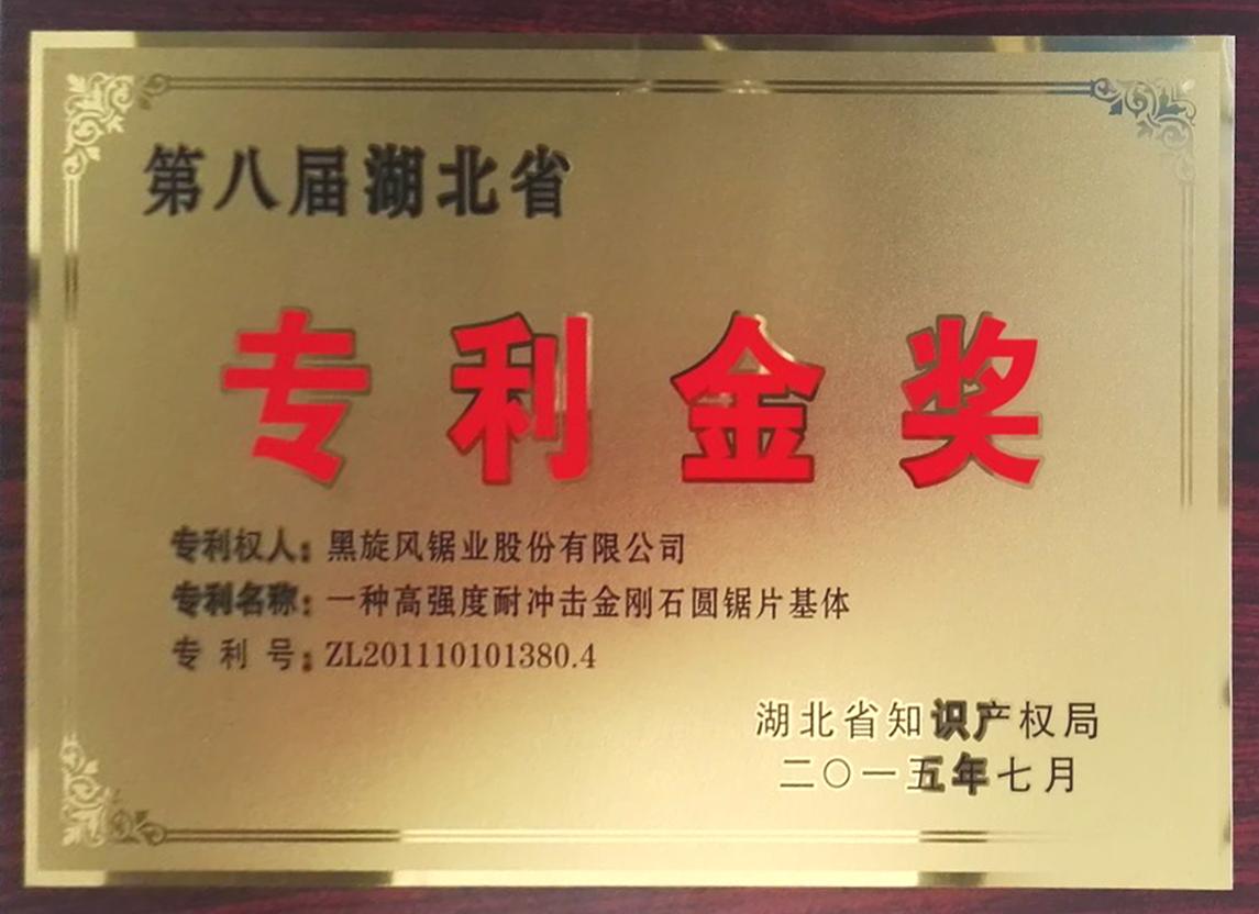 7.第八屆湖北省專利金獎