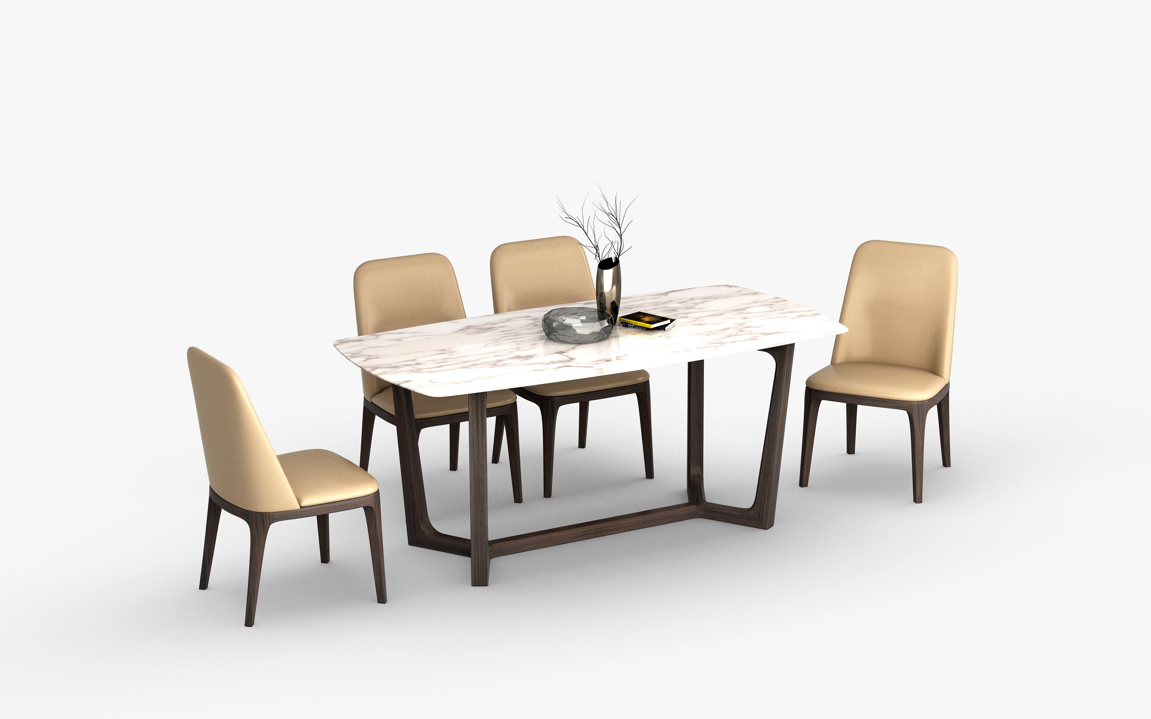 餐桌-5073-1餐台椅1.8