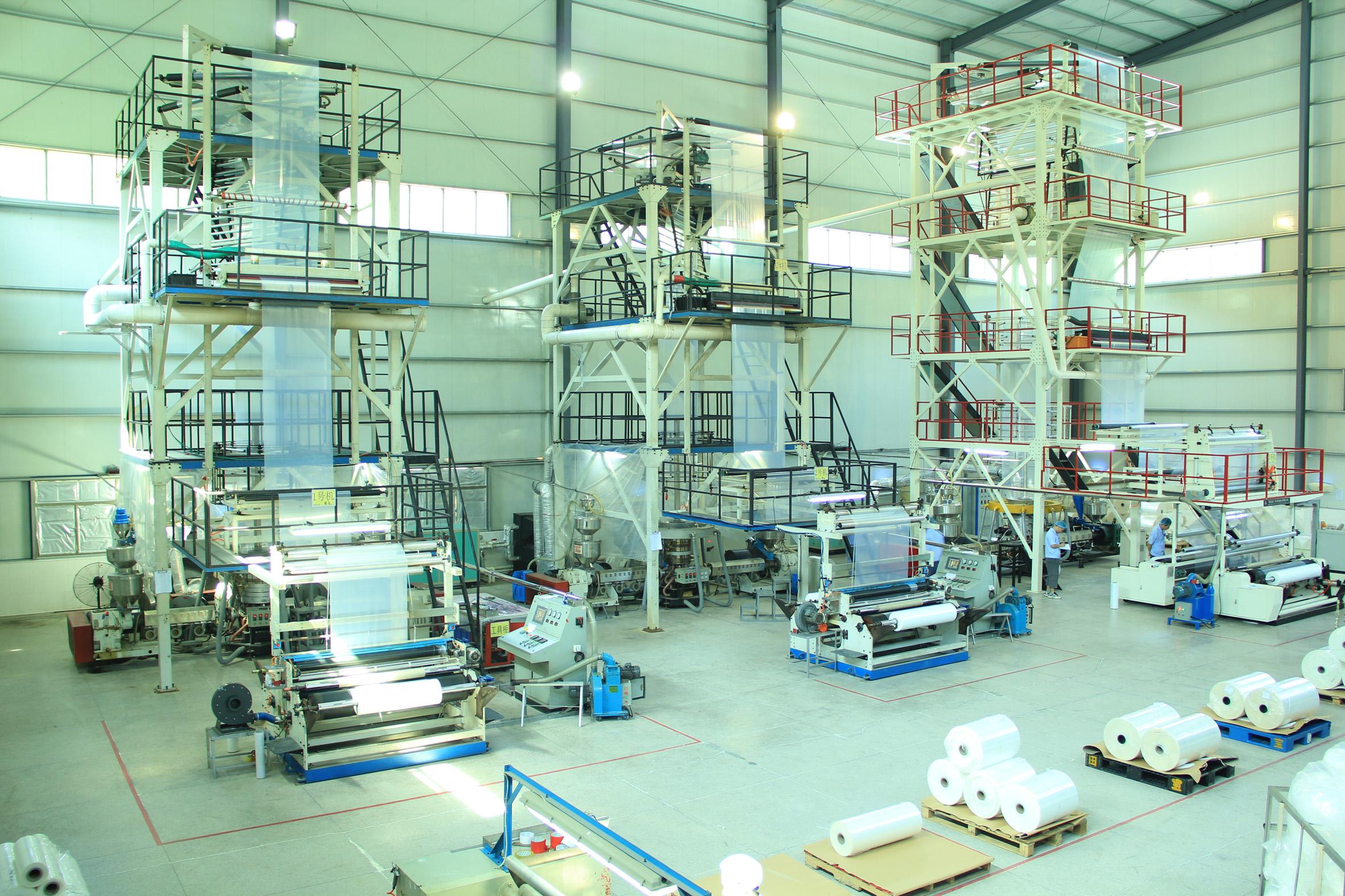 共擠膜生產Co-extrudedfilmproductionline