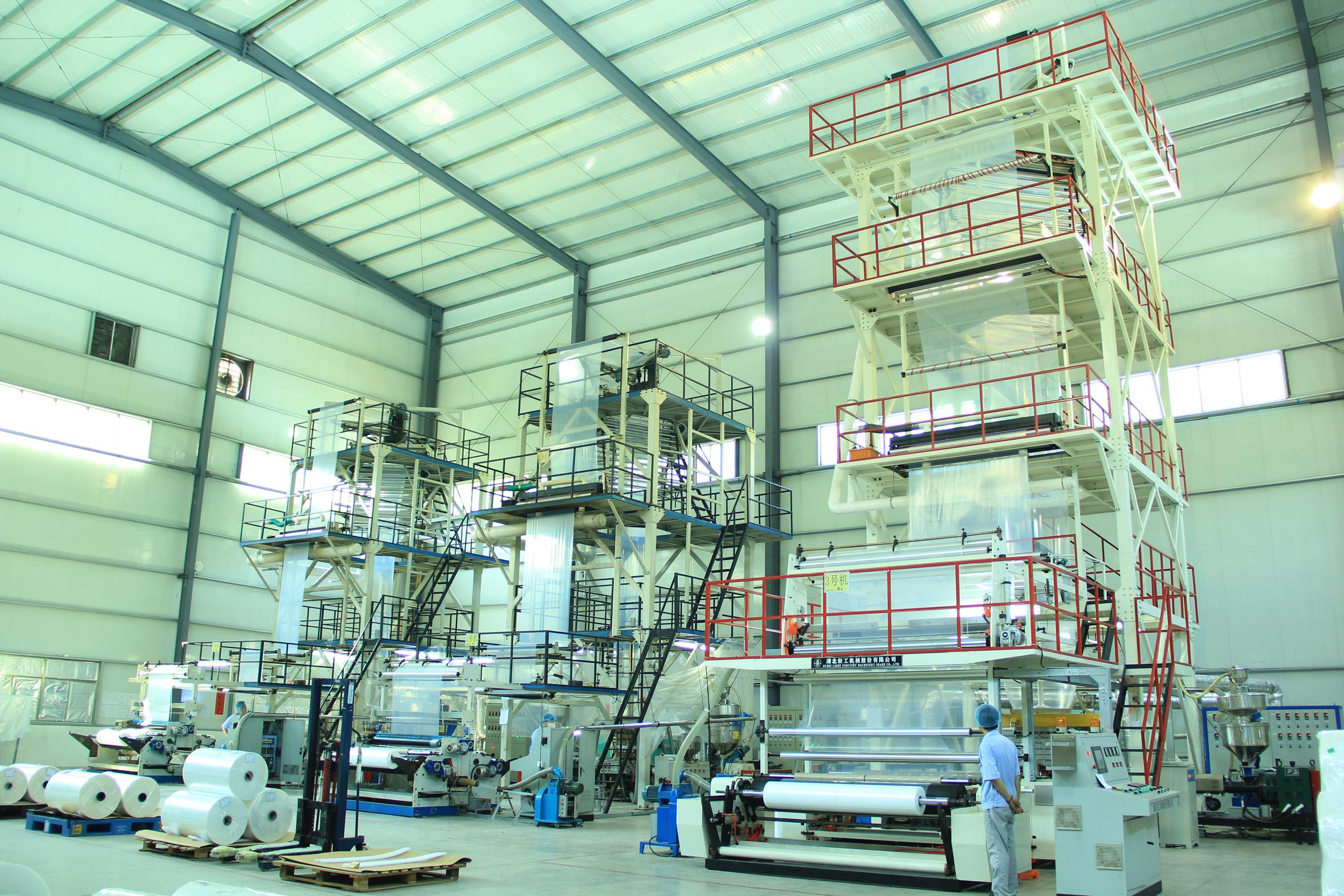 共擠膜生產線Co-extrudedfilmproductionline