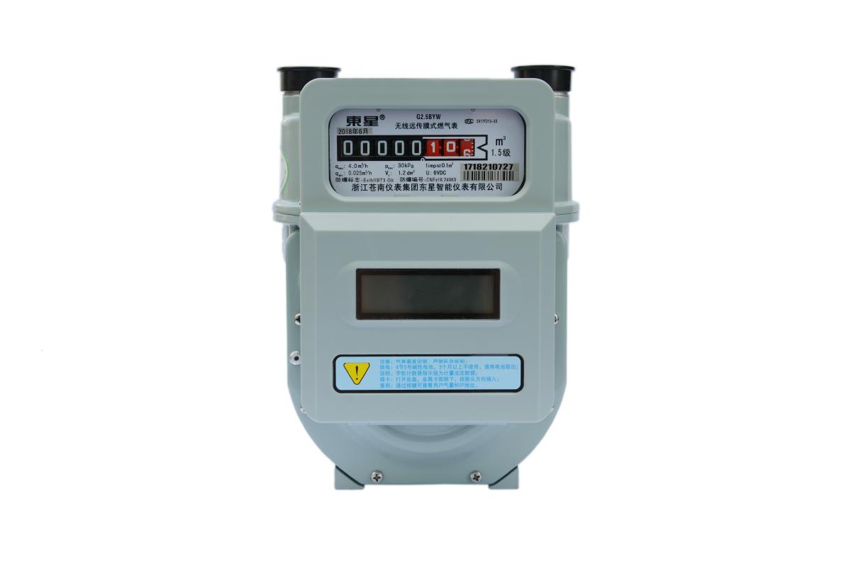 1200800-無線遠傳膜式燃氣表-Lo1