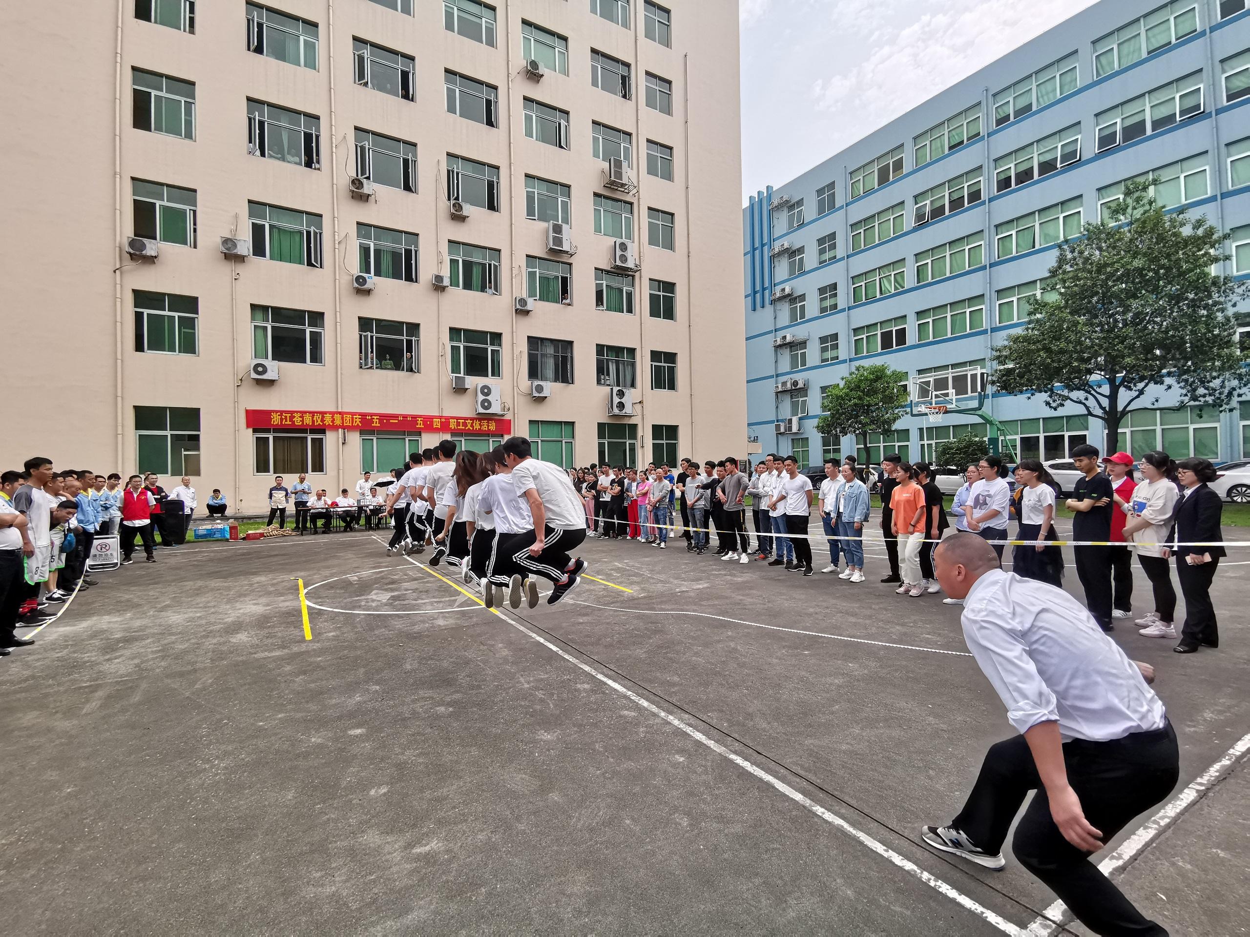 集体跳绳比赛