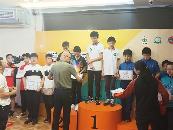 U14双人赛颁奖1