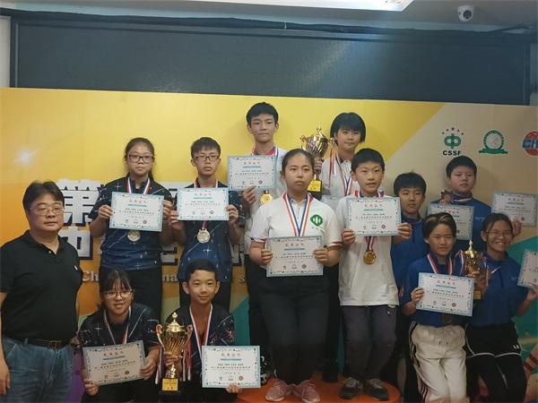 U14团体赛颁奖