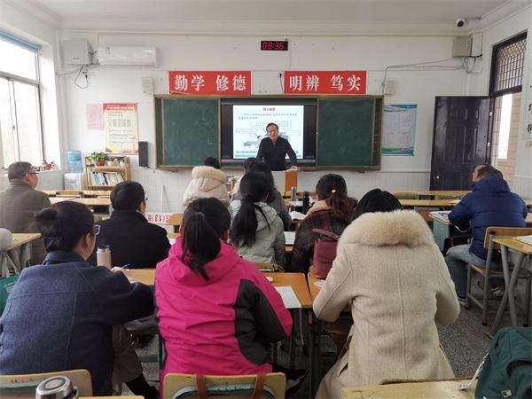 17陈长连副主任在示范备课