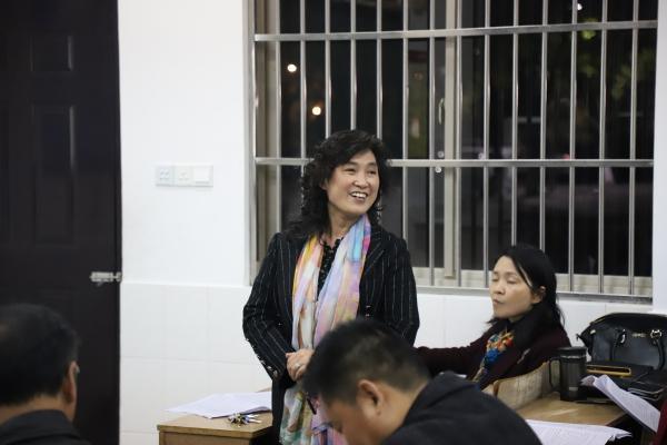 4-1部分管理人员、教研-备课组长代表发言