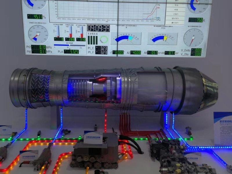 發動機數字化展項1:2.5太行發動機傳動系統