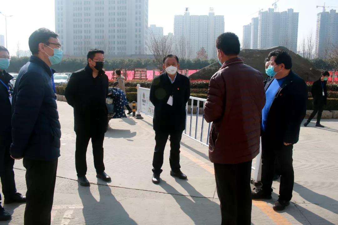 濮陽市委組織部副部長高朝亮到示范區督導檢查疫情防控工作