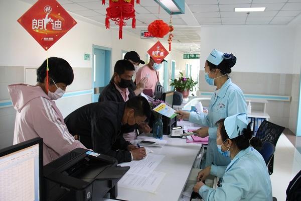 呼倫貝爾市地方病防治研究所開展5.15碘缺乏病日宣傳活動