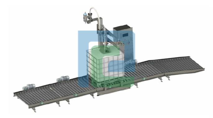 PC-DCS-1500称重式液体灌装