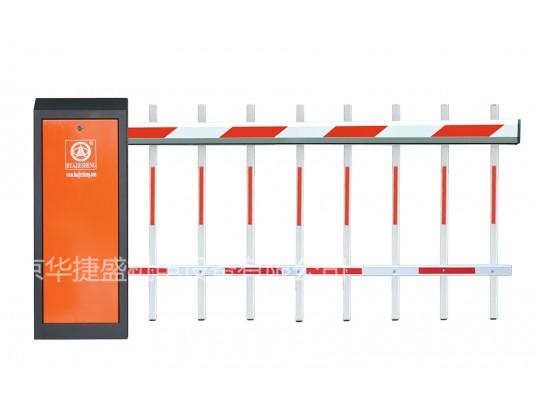 栅栏道闸(白红色)