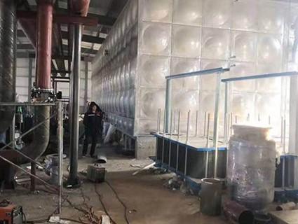 不銹鋼消防水箱2