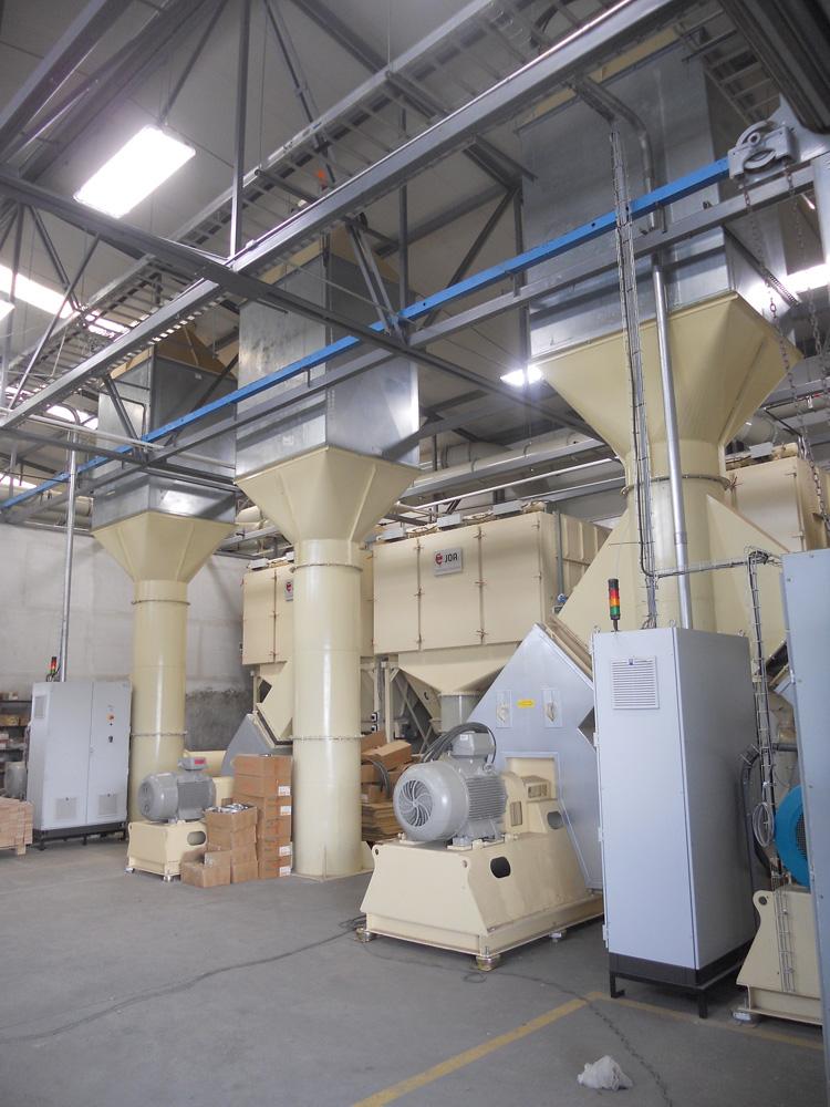 JOA除塵系統的集塵器風機室DustCleanSystem-DustCollectorFanRoom-2