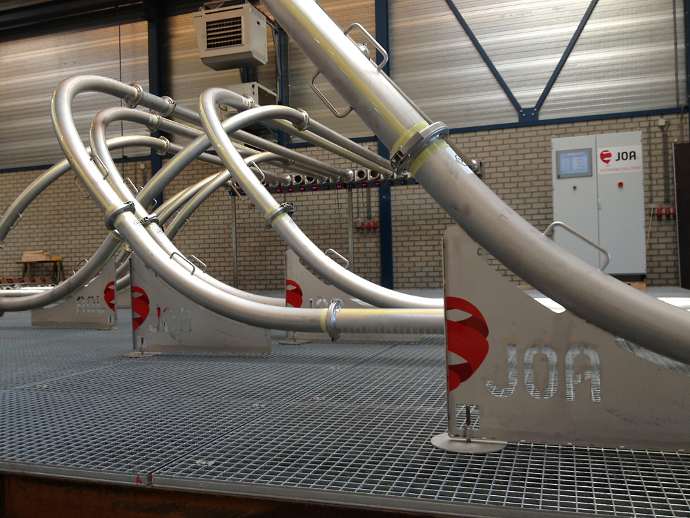 JOA除塵系統的集塵器風機室DustCleanSystem-DustCollectorFanRoom-3