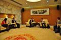 我會領導與中國國際貿易中心集團公司領導座談