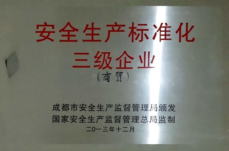安全生产标准化3级企业
