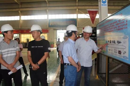 武威市各县市科技局领导到酒泉奥凯种子机械股份有限公司参观