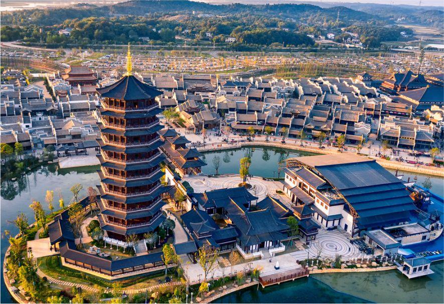 長沙新華聯銅官窯文旅城