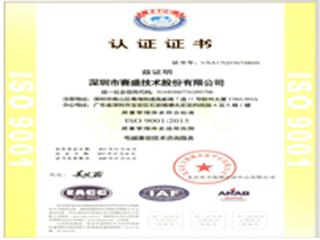 ISO90012015管理体系