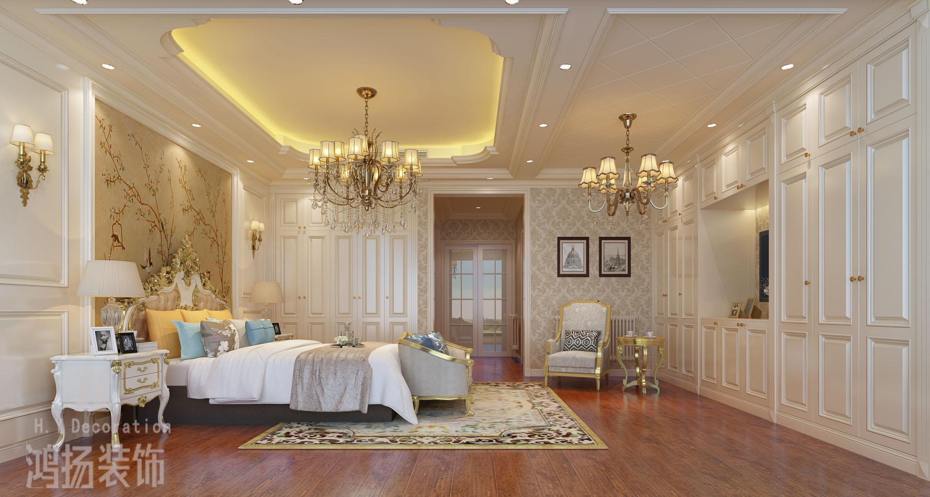 别墅欧式风格18万半包陈超碧桂园-二楼主卧2拷贝