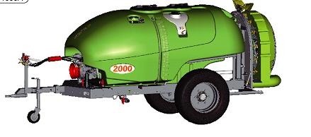 牵引式喷雾机