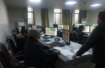 20200109紀檢監察室開展期末考試工作監督