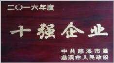 慈溪市十强企业