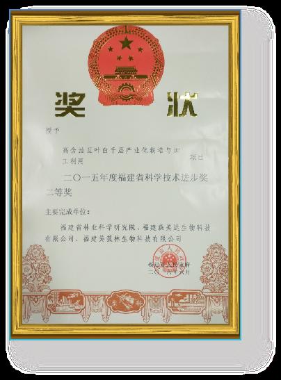 福建省科學技術進步獎