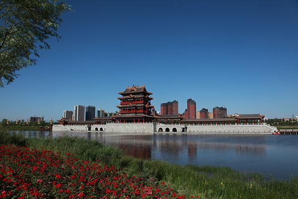 照片修改-临汾汾河绿化工程