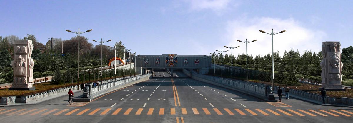 五一东路脸谱桥