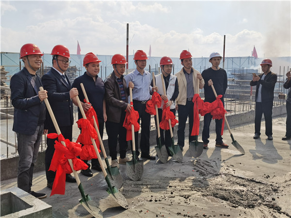 2019.10.23昆明黑林鋪城中村改造項目A7地塊封頂