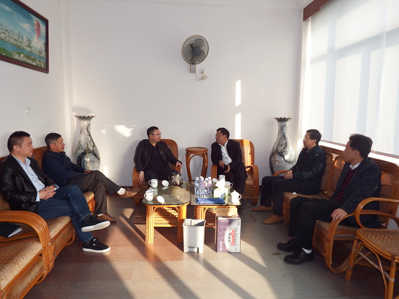 2020年1月14日下午,福建省省廳總工陳義雄一行來我司進行調研。