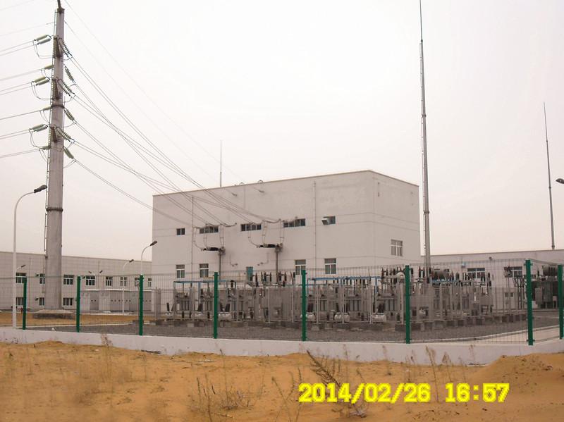 陕西靖边能源化工项目总变电站